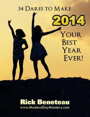 34 Dares to Make 2013 Your Best year Ever!
